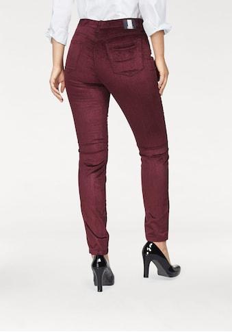 MAC Slim - fit - Jeans »Slim Doubloe Zip Velvet« kaufen