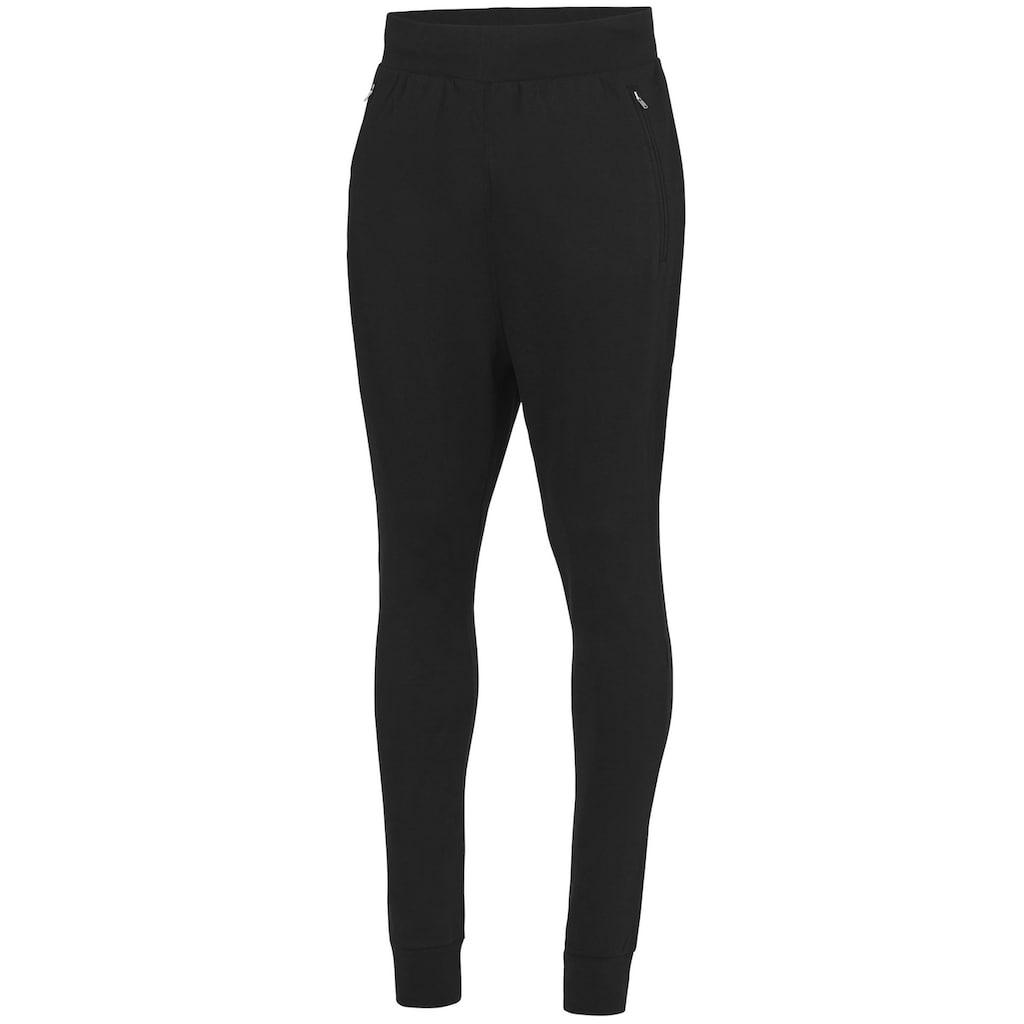 AWDIS Jogginghose »Herren Slim Fit Trainingshose mit tiefem Schritt«