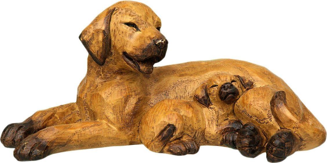 Image of Ambiente Haus Dekofigur »Hund mit Welpe«