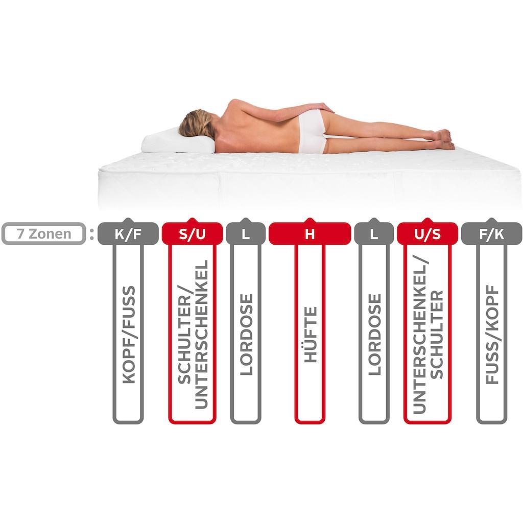 BeCo EXCLUSIV Komfortschaummatratze »Active KS«, (1 St.), elastisch, universell und bequemes Handling - alle Grössen bis 100 cm = 1 Preis