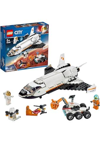 LEGO® Konstruktionsspielsteine »Mars-Forschungsshuttle (60226), LEGO® City Space... kaufen