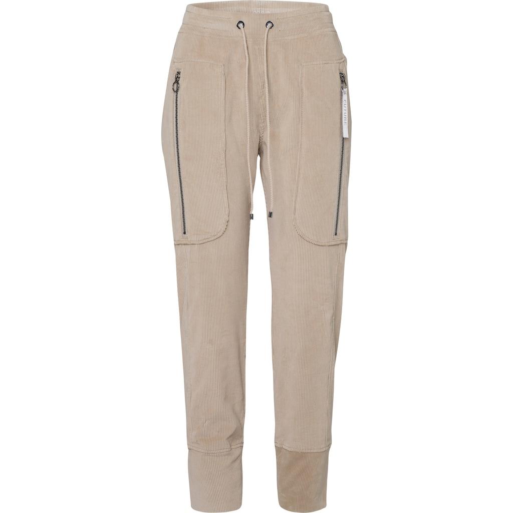 MAC Jogger Pants »Future-Pants«, Jop-Pants mit grossen Reissverschluss -Taschen
