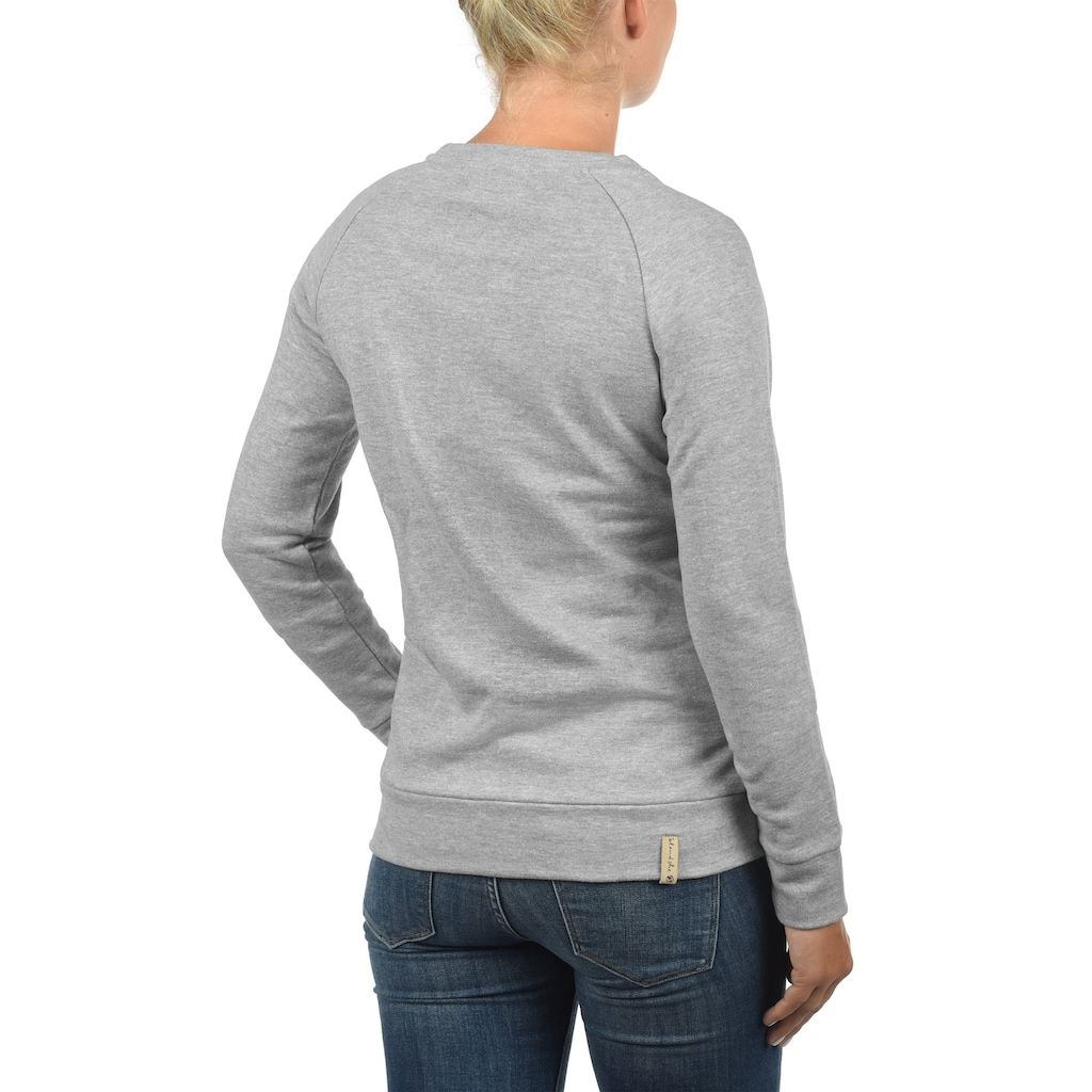 Blendshe Sweatshirt »Kim«, Sweatpullover in Melange Optik