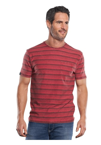 Engbers Im Stück gefärbtes Rundhals T-Shirt mit Brusttasche kaufen