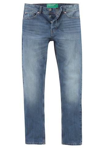 United Colors of Benetton 5-Pocket-Jeans, mit Knopfleiste kaufen