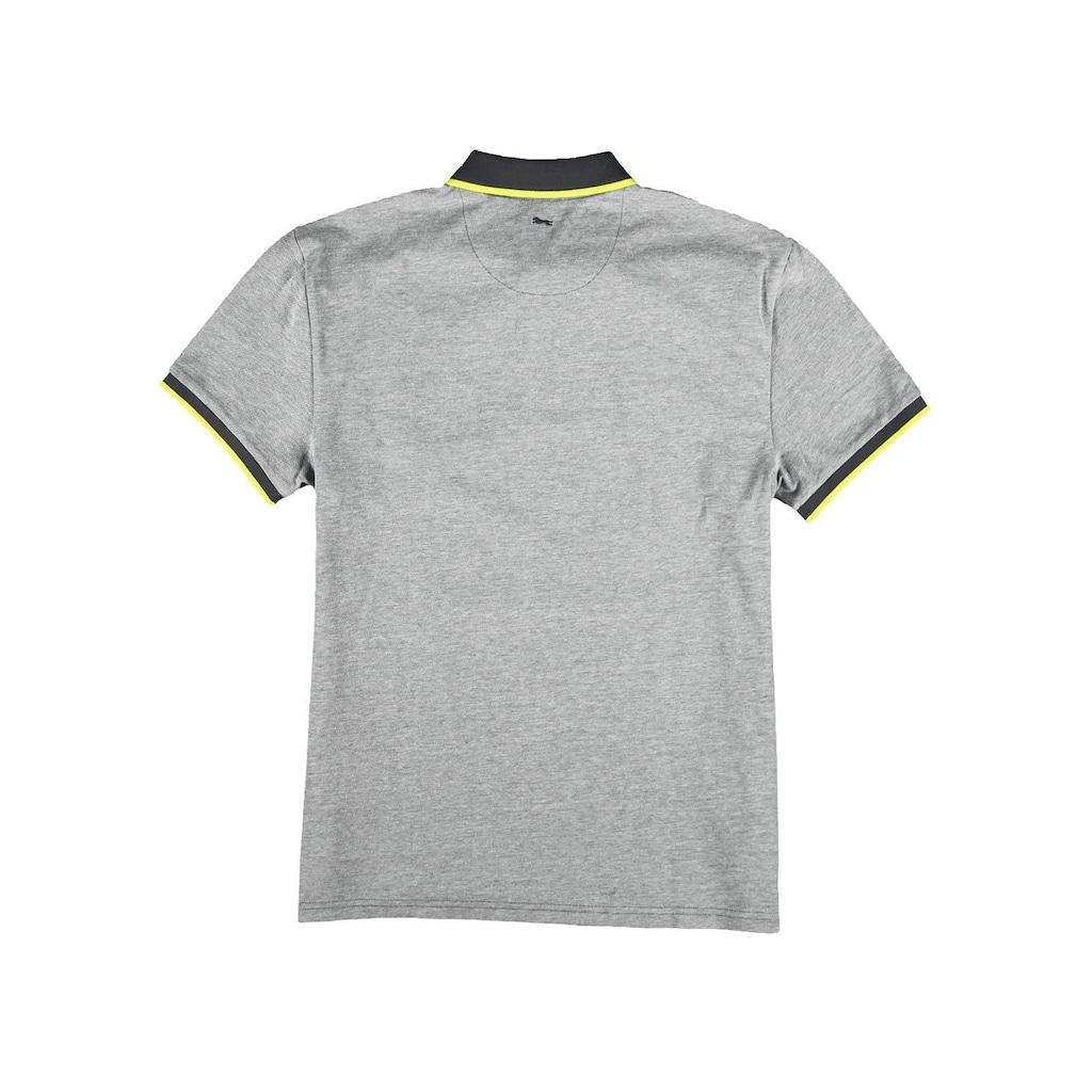 Engbers Poloshirt mit Neondetails