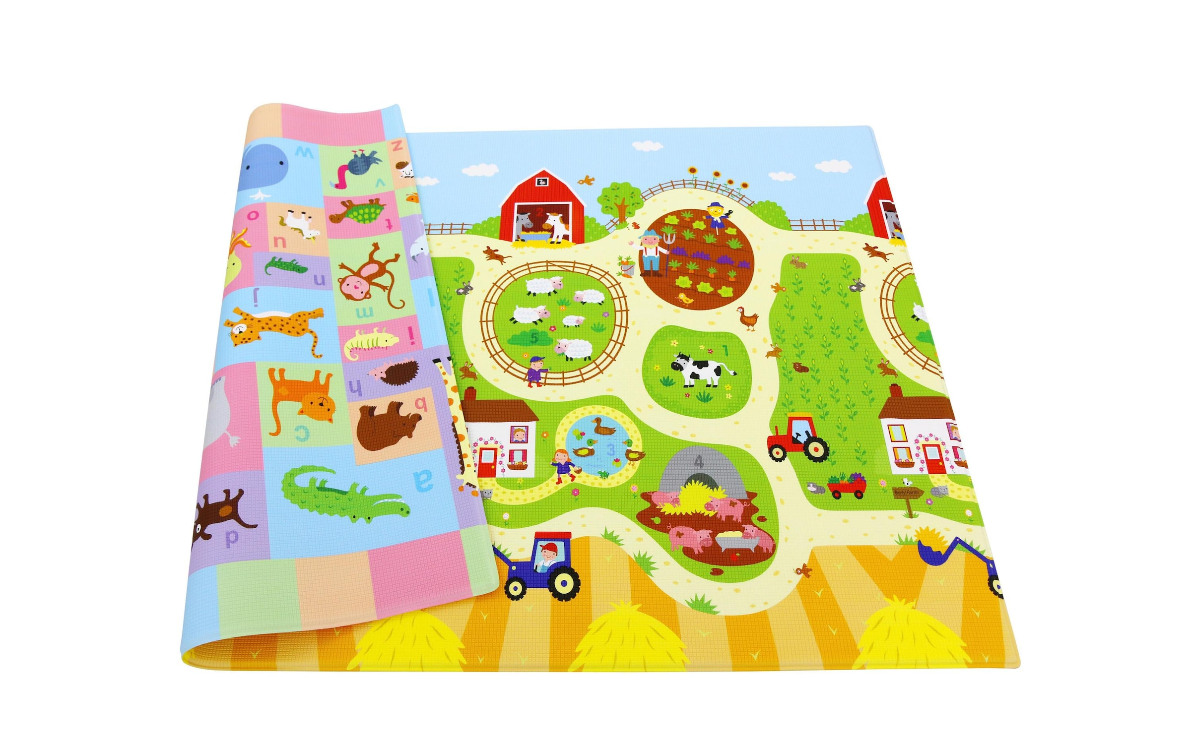 Image of BabyCare Spielmatte »Busy Farm, 210 x 140 cm«