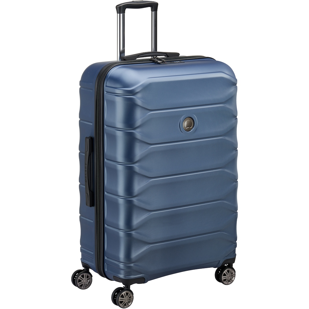 Delsey Hartschalen-Trolley »Meteor, 78 cm, dark blue«, 4 Rollen
