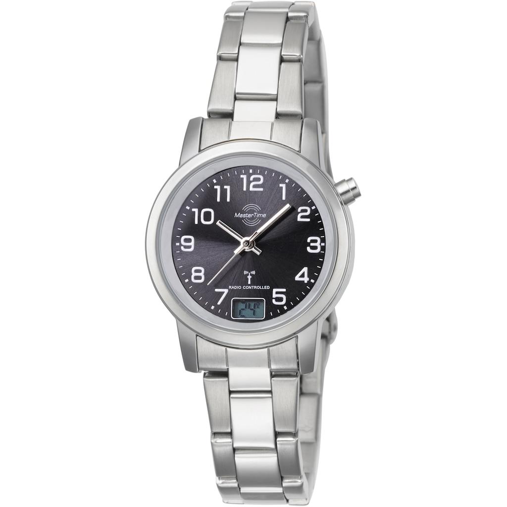 MASTER TIME Funkuhr »Basic, MTLA-10695-21M«