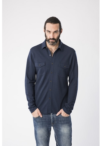 SUPER.NATURAL Langarmhemd »M WAYFARER POCKET SHIRT«, geruchshemmender Merino-Materialmix kaufen