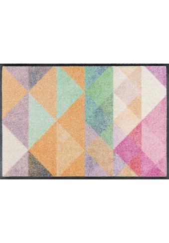 wash+dry by Kleen-Tex Fussmatte »Snorre«, rechteckig, 9 mm Höhe, Schmutzfangmatte, In-... kaufen