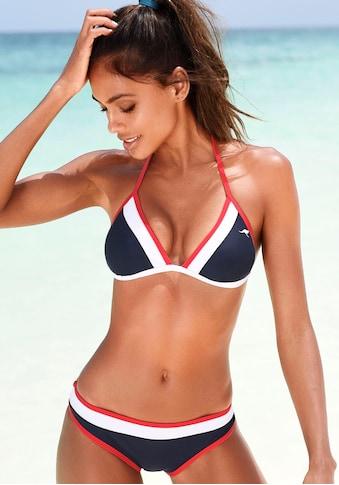 KangaROOS Triangel-Bikini, im Colourblocking-Style kaufen
