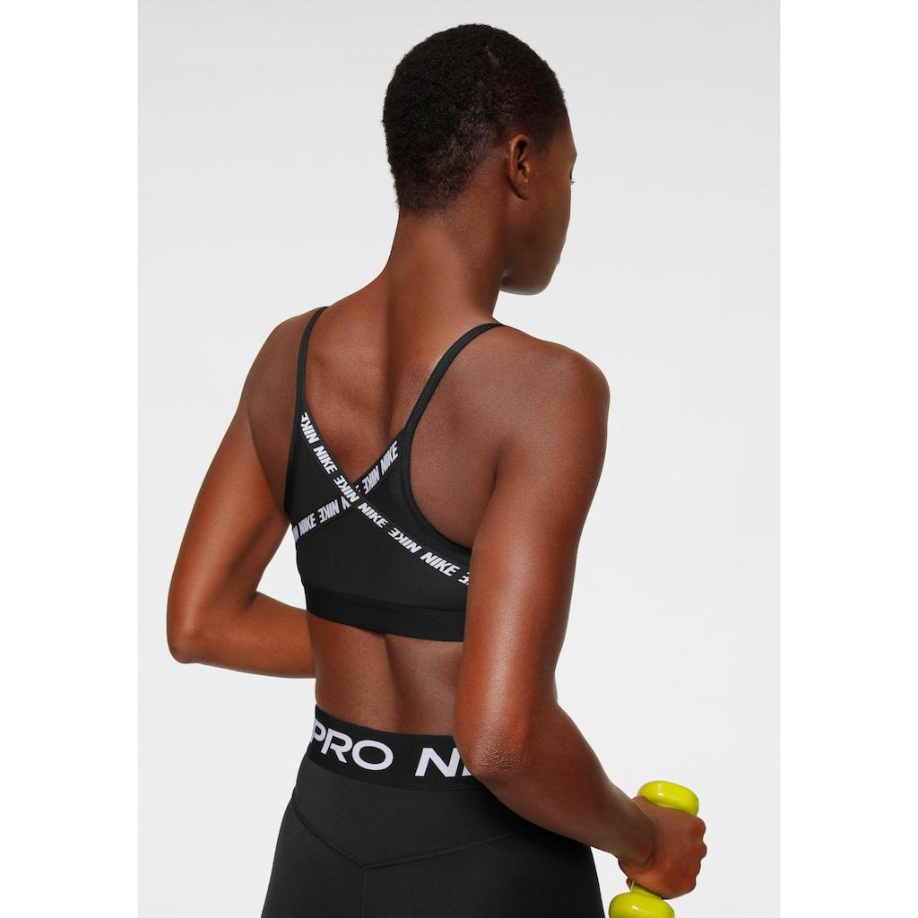 Nike Sport-BH »Nike Indy Women's Light Support Logo Sports Bra«, Mesheinsatz am Rücken
