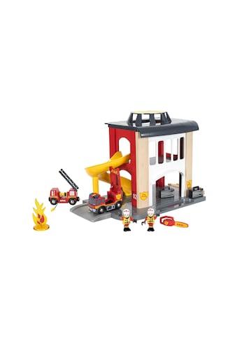 BRIO® Spielzeugeisenbahn-Gebäude »BRIO® WORLD Grosse Feuerwehrstation mit... kaufen