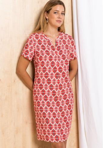 bianca Blusenkleid »DIVANA«, im modernen Retro-Print aus 100% Viskose kaufen