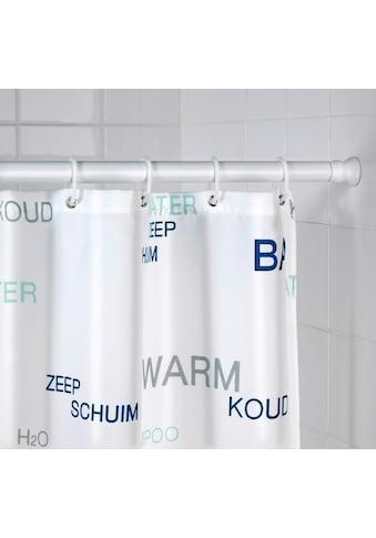 WENKO Klemmstange »Extra stark weiss«, ausziehbar, Teleskopstange für Duschvorhänge,... kaufen
