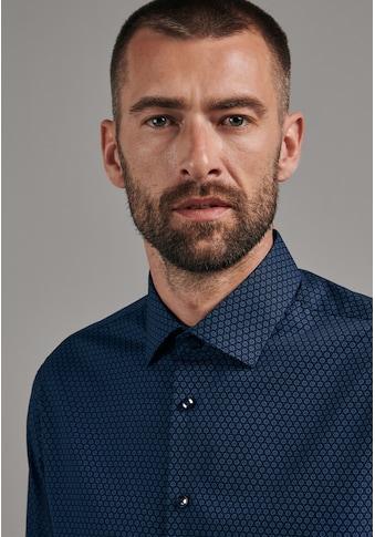 seidensticker Businesshemd »Slim«, Slim Langarm Kentkragen Druck kaufen