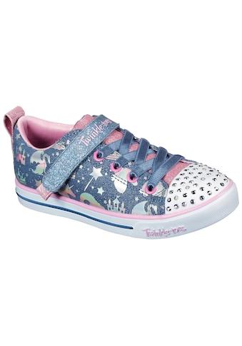 Skechers Kids Sneaker »SPARKLE LITE-PRINCESSLAND«, mit changierenden Metallic-Print kaufen