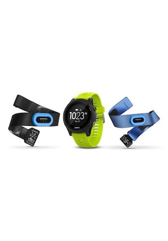 Garmin Fitnessuhr »GPS-Sportuhr Forerunner 935 Bundle Tri Gelb Schwarz« ( kaufen