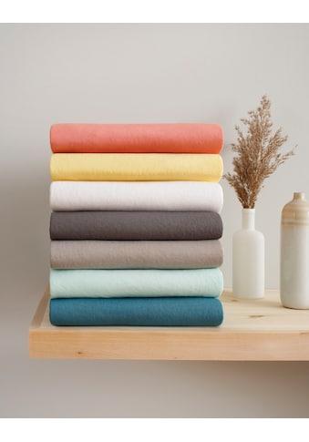 GOODproduct Spannbettlaken »Neele«, aus zertifizierter Bio-Baumwolle kaufen