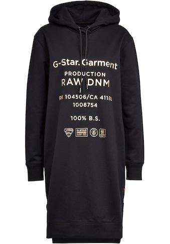 G - Star RAW Sweatkleid »Graphic text bf hdd sw dress« kaufen