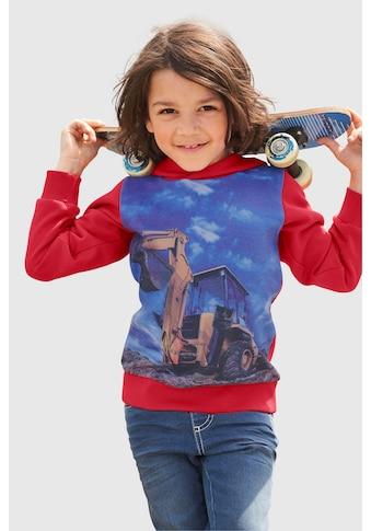 KIDSWORLD Kapuzensweatshirt »EXCAVATOR AT WORK« kaufen