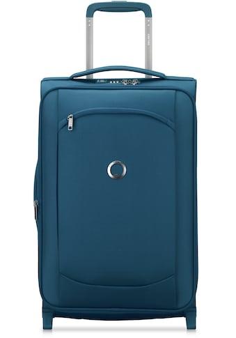 Delsey Weichgepäck-Trolley »Montmartre Air 2.0, 55 cm, blue«, 4 Rollen, mit... kaufen
