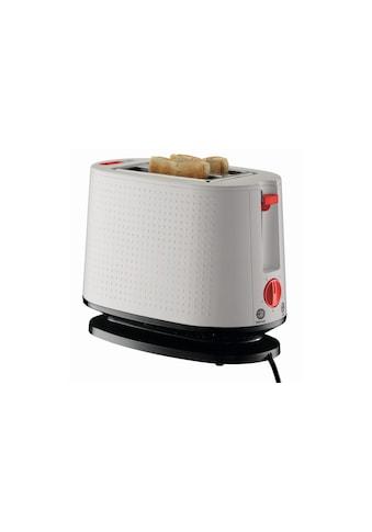 Bodum Toaster »Bodum Bistro Weiss«, für 2 Scheiben, 940 W kaufen
