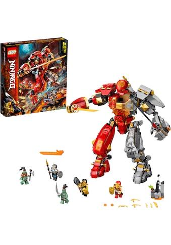 LEGO® Konstruktionsspielsteine »Feuer-Stein-Mech (71720), LEGO® NINJAGO®«, (968 St.),... kaufen