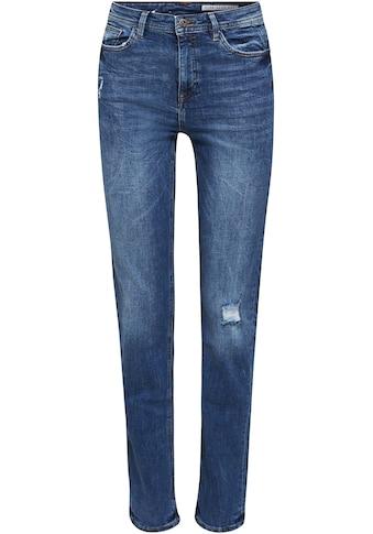 edc by Esprit Stretch-Jeans, mit modischen Used-Effekten kaufen