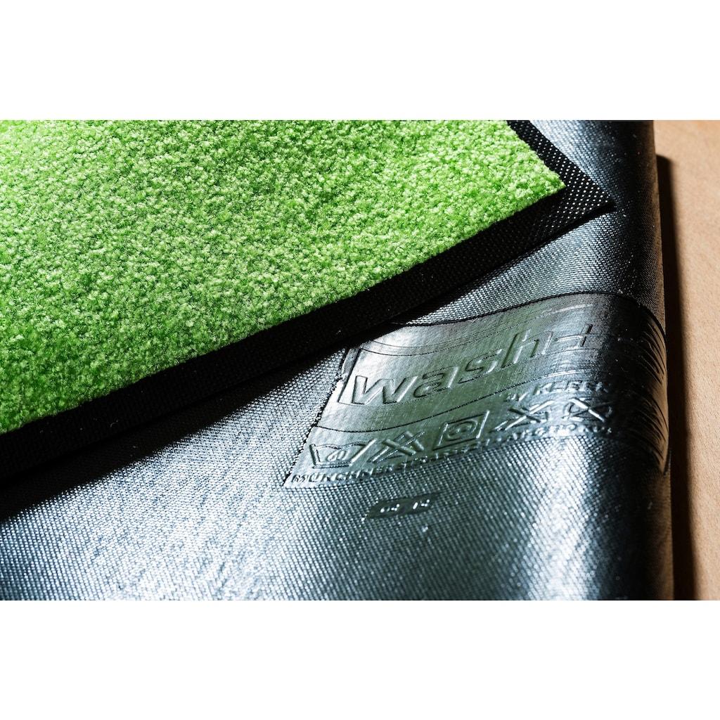 wash+dry by Kleen-Tex Fussmatte »Tiger Tundra«, rechteckig, 7 mm Höhe, Schmutzfangmatte, In- und Outdoor geeignet, waschbar