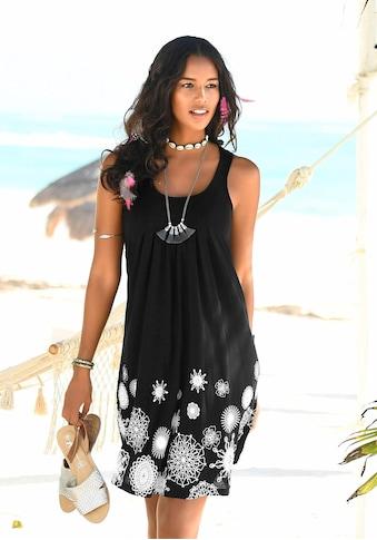 Beachtime Strandkleid, mit grafischem Druck kaufen