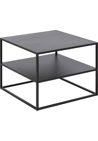 andas Couchtisch »Vilho«, minimalistisches Design aus pflegeleichtem Metall in... kaufen