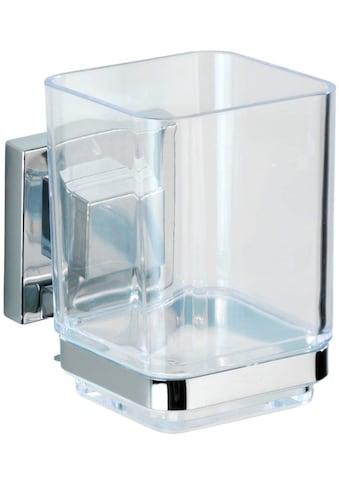WENKO Zahnputzbecher »Quadro«, Vacuum-Loc® kaufen