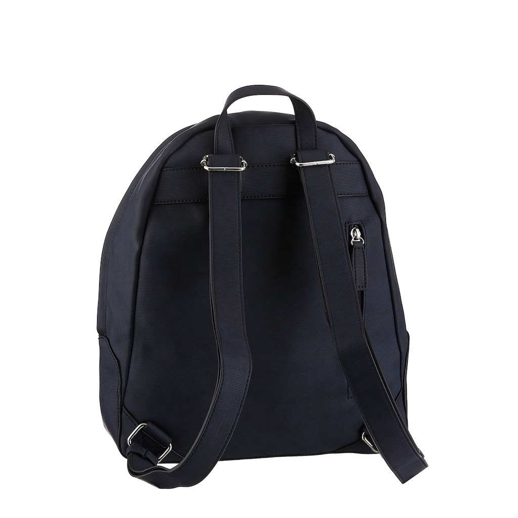GERRY WEBER Bags Cityrucksack »be different backpack mvz«, in zeitlosen Desing mit silberfarbenen Details