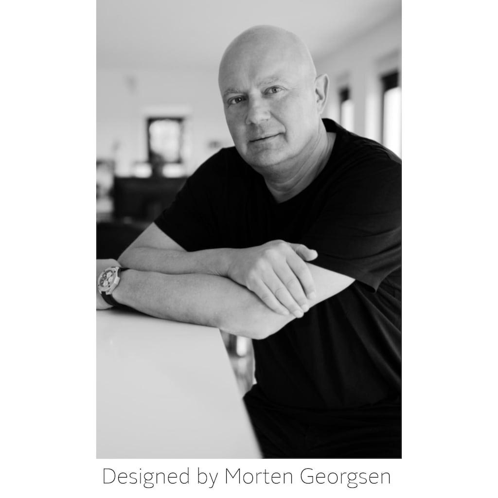 andas Pouf »Larsen«, mit Stauraum, in Pouf-Optik mit schönem Strukturstoff, Design by Morten Georgsen