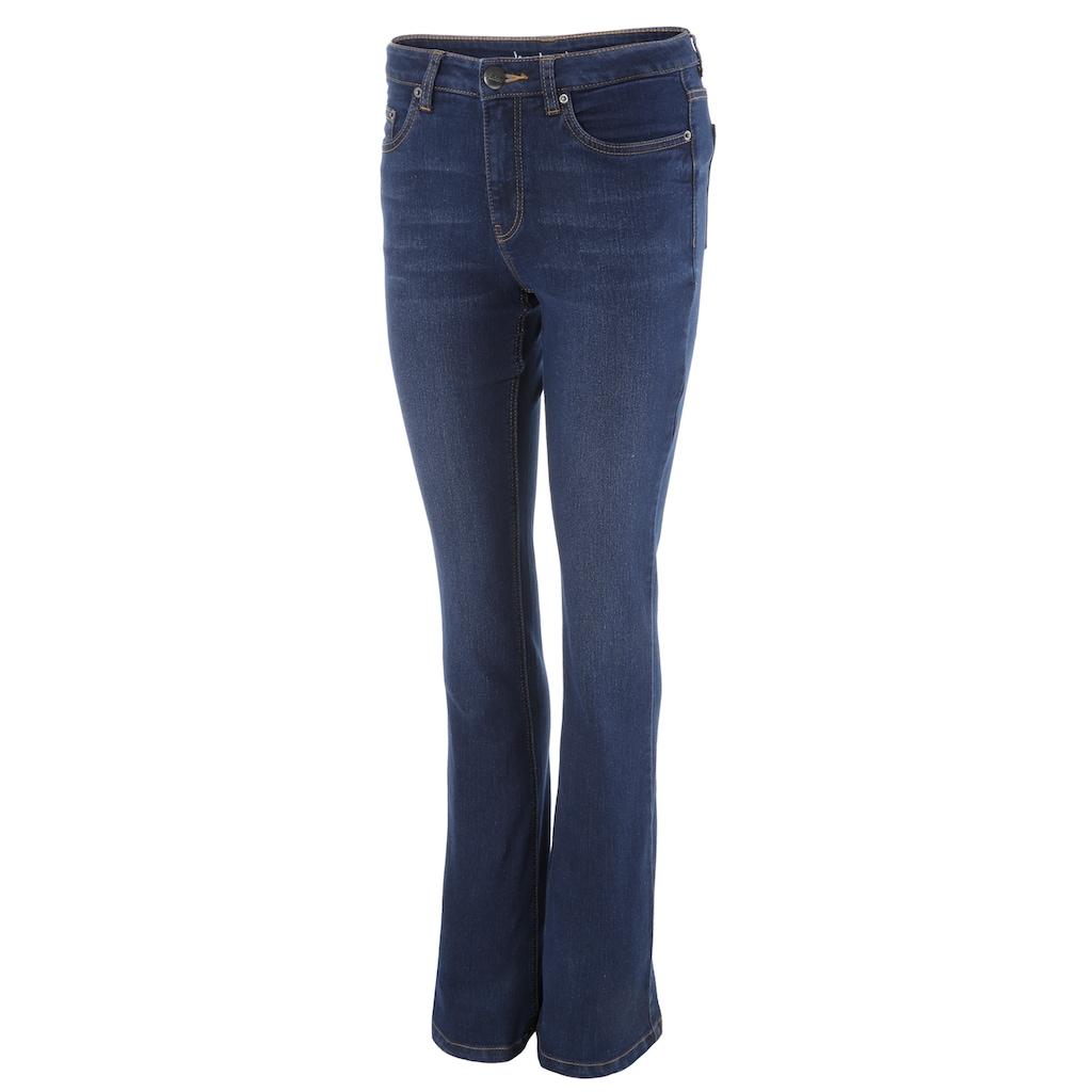 Aniston CASUAL Bootcut-Jeans, regular waist