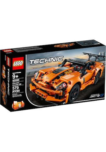 LEGO® Konstruktionsspielsteine »Chevrolet Corvette ZR1 (42093), LEGO® Technic«, (579 St.), Made in Europe kaufen