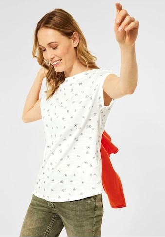 Cecil T-Shirt, mit floralem Alloverprint kaufen