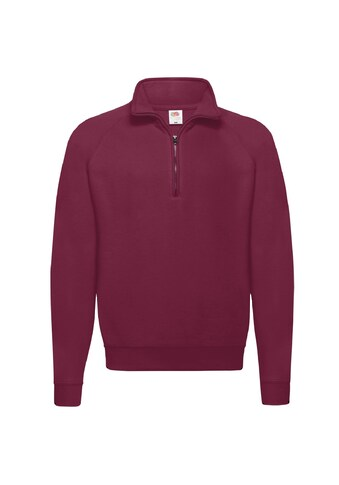 Fruit of the Loom Stehkragenpullover »Sweatshirt / Pullover mit Reissverschluss« kaufen