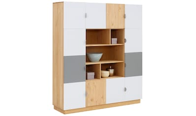 my home Regal »Undine«, mit 12 Türen, 141cm breit kaufen