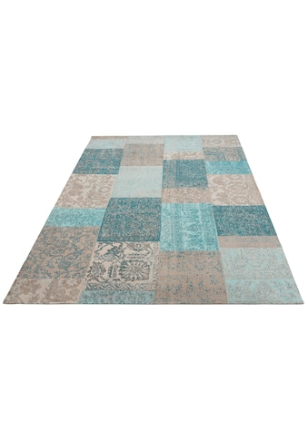 My HOME Teppich »Pikria«, rechteckig, 8 mm Höhe, Vintage-Optik, Wohnzimmer kaufen