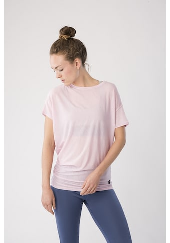 SUPER.NATURAL T-Shirt »W YOGA LOOSE TEE«, bequemer Merino-Materialmix kaufen