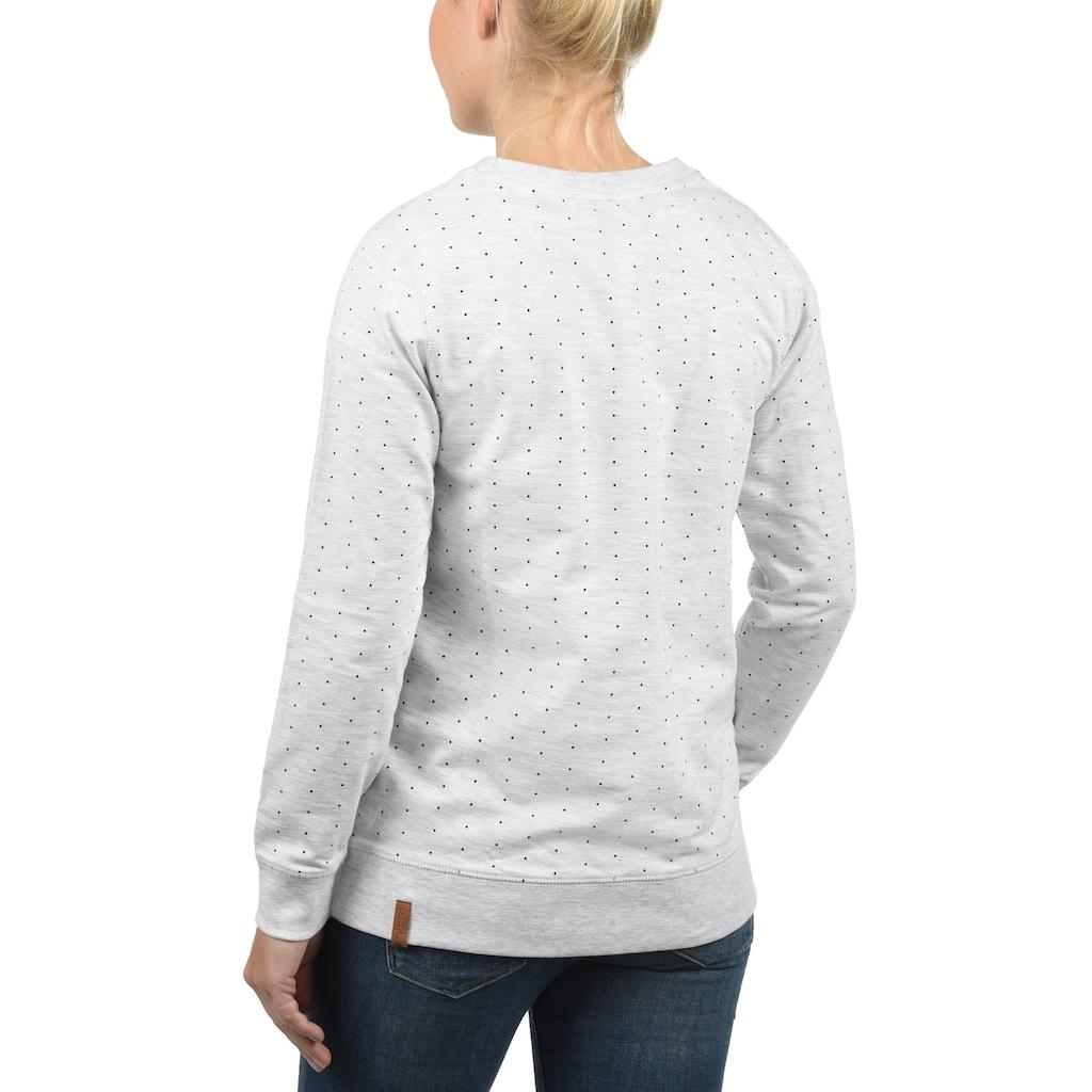 Blendshe Sweatshirt »Polly«, Pullover mit Punkten
