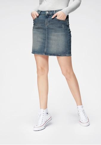 Mavi Jeansrock »ALICE«, im leichten Used-Look kaufen