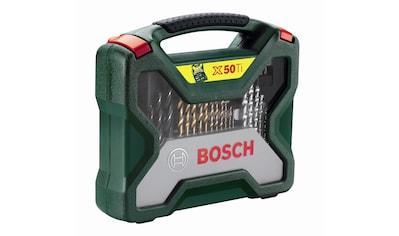 BOSCH Bohrer- und Bit-Set »X-Line Titanium«, (50 tlg.) kaufen