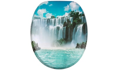Sanilo WC-Sitz »Wasserfall«, mit Absenkautomatik kaufen