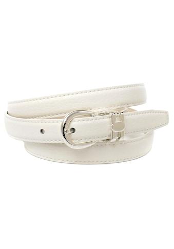 Anthoni Crown Ledergürtel, in schmaler Form, helle Rückseite kaufen