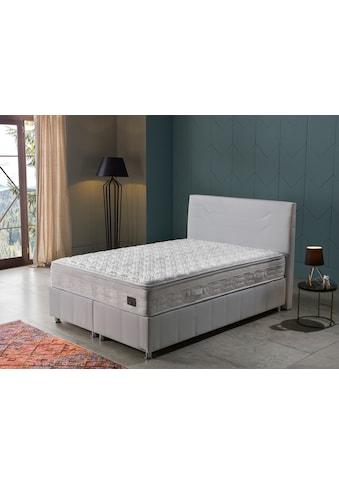 İSTİKBAL Bonnellfederkernmatratze »New Relax Sleep«, 418 Federn, (1 St.), abnehmbarer Komfortschaumtopper mit hochwertigem Viskose-Bezug kaufen