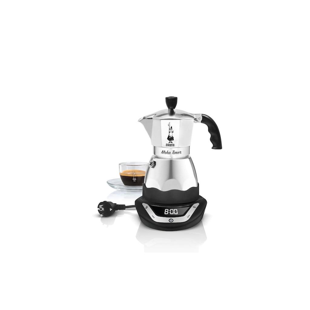 BIALETTI Espressokocher »Moka Timer, 3 Tassen«